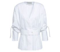 Filonas Cotton-poplin Shirt White