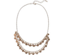 14-karat Gold-plated Necklace Gold Size --
