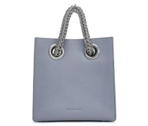 Genesis Leather Tote Gray Size --