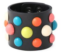 Studded Leather Bracelet Multicolor Size --