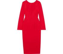 Cool wool midi dress