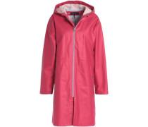 Kenna coated cotton-blend hooded jacket