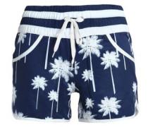 Printed shell shorts