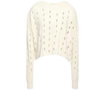 Open-knit Sweater Ivory