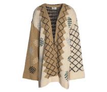 Intarsia cotton cardigan