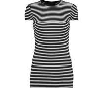 Striped stretch-Micro Modal T-shirt