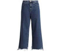 Caron high-rise wide-leg jeans