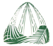Banyans cutout printed bikini top