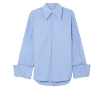 Cotton-poplin Shirt Light Blue