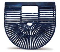 Woman Ark Acrylic Clutch Royal Blue
