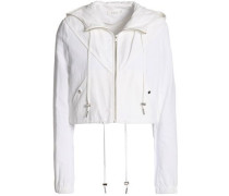 Cotton and linen-blend jacket