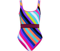 Classic striped swimsuit