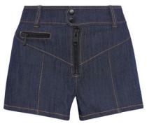 Tobie Denim Shorts Dark Denim