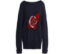 Erin intarsia mohair-blend sweater