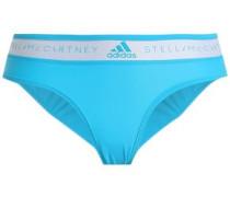Two-tone Bikini Briefs Turquoise