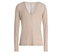 Agrinio ribbed wool-jersey top