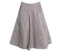 Pleated shell skirt