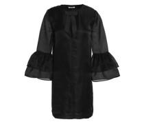 Silk-organza mini dress