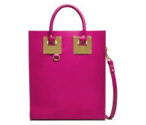 Albion Mini Matte-leather Tote Magenta Size --