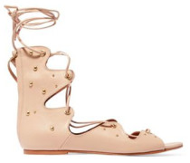 Xiri studded leather lace-up sandals