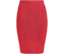 Kaitlin Bandage Pencil Skirt Papaya
