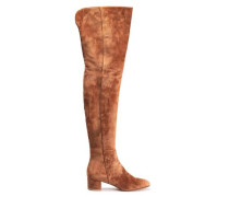 Rolling Mid Cuisarde Camoscio suede thigh boots
