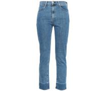 Mid-rise Slim-leg Jeans Light Denim  3