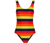 Striped Swimsuit Multicolor