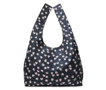 Fairmont Floral-print Shell Tote Midnight Blue Size --