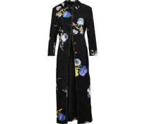Okki floral-print cotton-corduroy jacket
