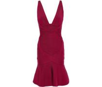 Bandage Mini Dress Magenta