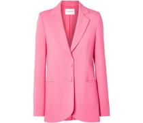Woman Wool-blend Blazer Pink