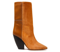 Suede And Leather Boots