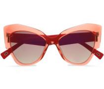 Cat-eye acrylic sunglasses