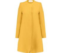 Redgrave wool-crepe coat