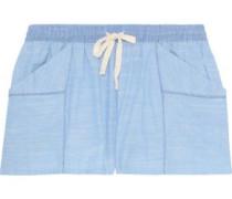 Jude cotton-gauze pajama shorts