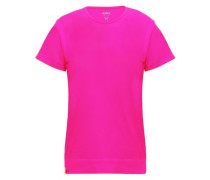 Stretch-knit Mesh T-shirt Bright Pink  /S