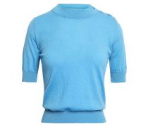 Wool And Cashmere-blend Sweater Light Blue