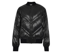 Woman Vindas Quilted Shell Down Bomber Jacket Black
