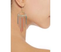 Cosmopolitan coated gold-tone bead earrings