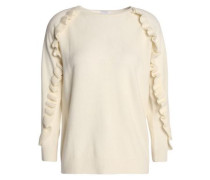 Thilia intarsia wool and cashmere-blend sweater