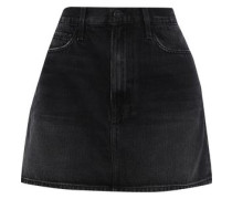 Le Mini Denim Mini Skirt Black