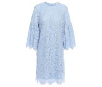 Woman Jerome Corded Lace Mini Dress Light Blue
