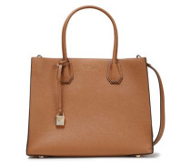 Woman Mercer Large Pebbled-leather Tote Light Brown