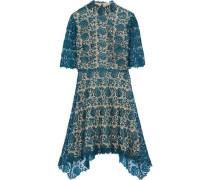 Jeanne metallic guipure lace dress