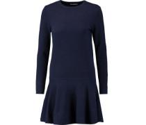 Mercer ruffled merino wool-blend mini dress