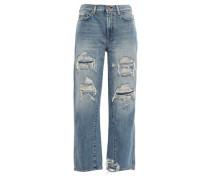 Straight Leg Jeans Light Denim  5