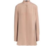 Silk crepe de chine shirt