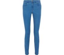Mid-rise Skinny Jeans Cobalt Blue  6