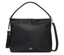 Kingston Drive Pebbled-leather Shoulder Bag Black Size --